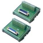 Industrial control connector module